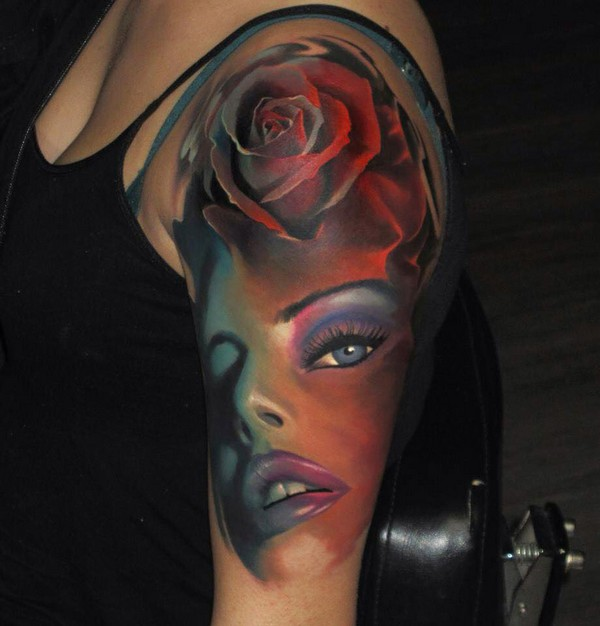 Female Half Sleeve Tattoos