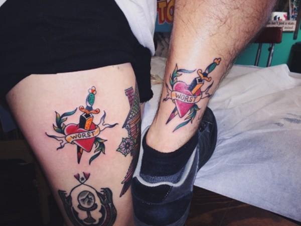 Foot Tattoos Girls