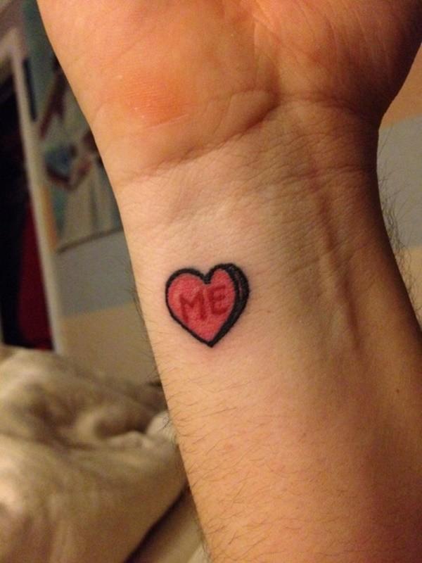 Heart Foot Tattoos
