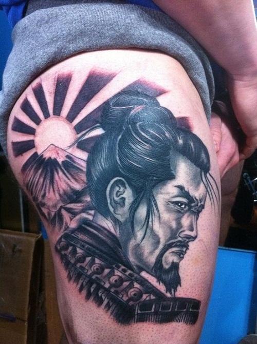 japanese Culture Samurai Tattoo