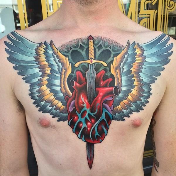 Lower Back Tattoos Guys