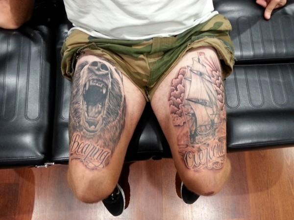 Amazing Leg Tattoos