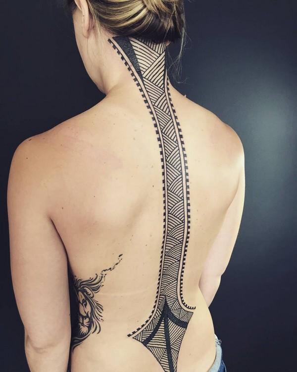 Amazing Lines Tattoo