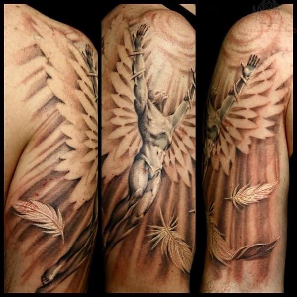 Angel Baby Tattoos