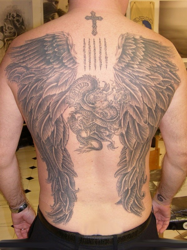 Angel Tattoos For Men Designs And Ideas