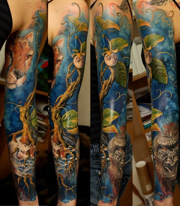 Best Full Sleeve Tattoos For Men
