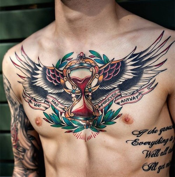 Chest Tattoos Men