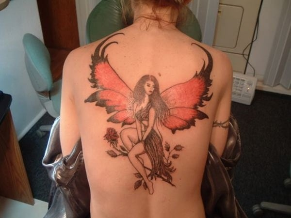 Cute Angel Tattoos For Women