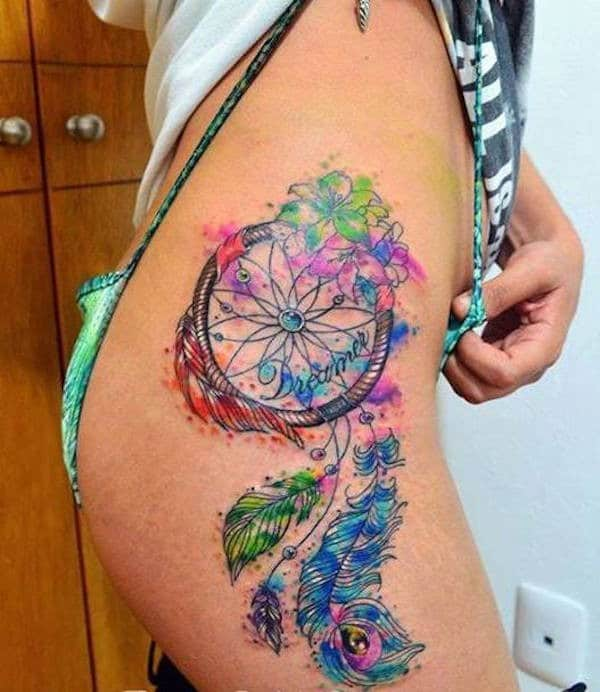 Dreamcatcher Tattoo Pictures