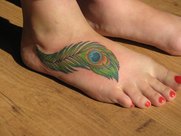 Feather Tattoos With Quotes