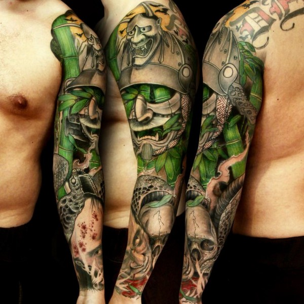 Full Sleeve Tattoo Designs Japanese