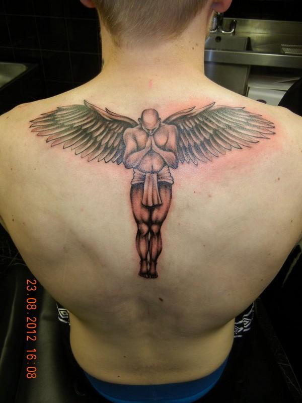 Guardian Angels Tattoos For Men