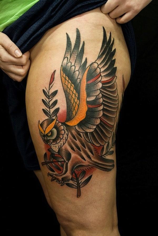 Hip Tattoos Women