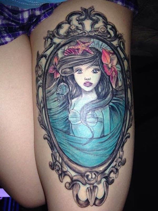Inner Thigh Tattoos