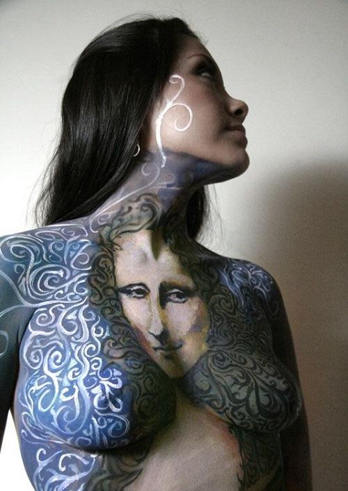 Mona Lisa Paint Models