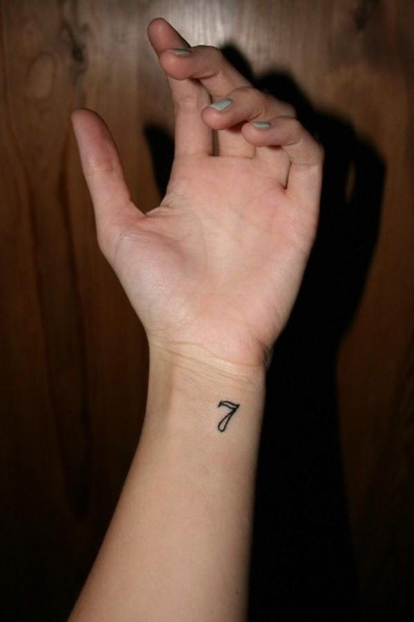 Number Tattoos