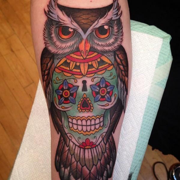 Owl Sugarskull