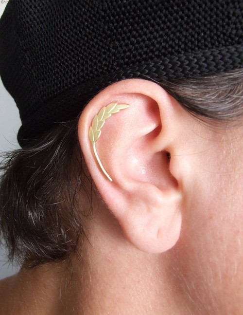 G Clef Helix Earring For Musicians