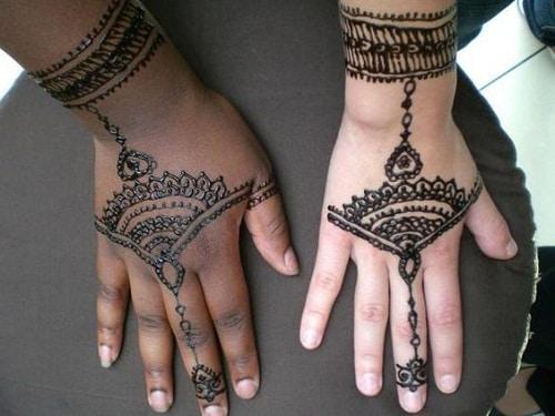 Awe-Inspiring Arabic Mehndi Designs