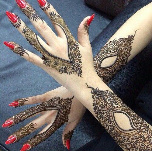 Exquisite Arabic Mehndi Designs