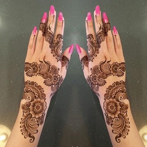 Splendid Arabic Mehndi Designs