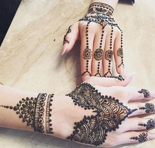 Unbelievable Arabic Mehndi Designs