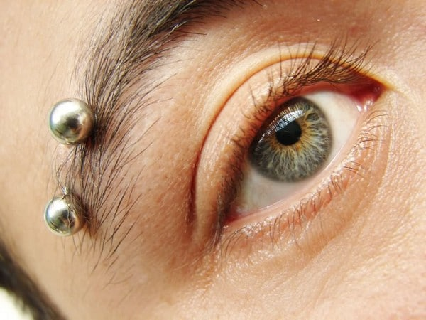 Nice Silver Barbells Body Piercing