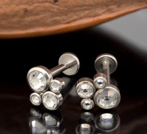Cleavage Microdermal Piercings