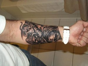 Tattoo On Lower Arm