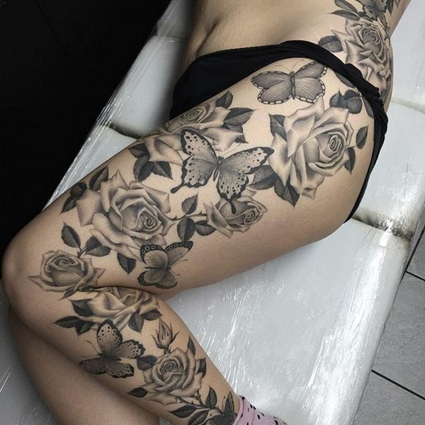 Best Lower Leg Tattoo