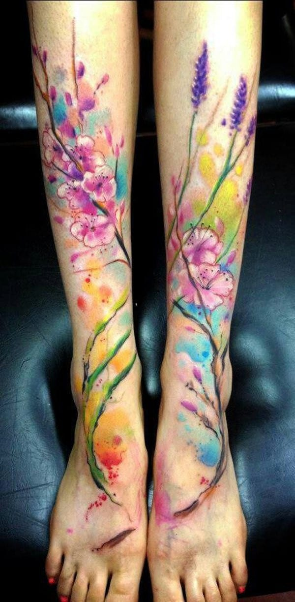 Best Tribal Leg Tattoo