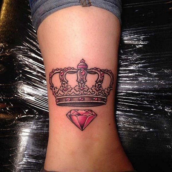 Crown Tattoo For Man