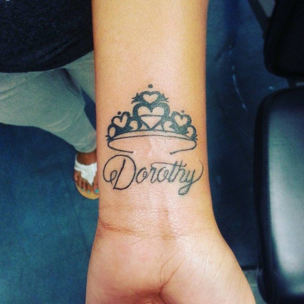 Diamond With Crown Tattoo Meaning