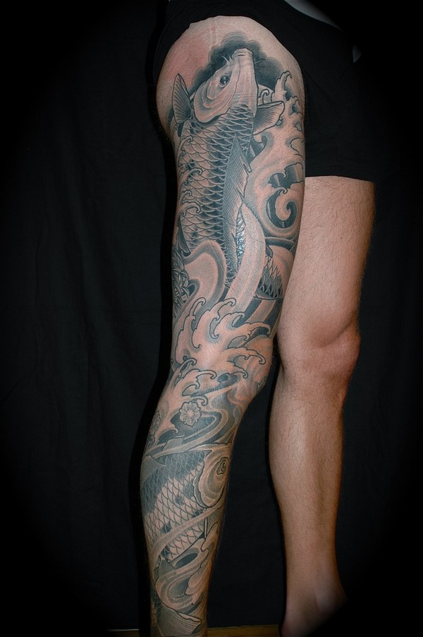 Mens Leg Tattoos