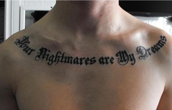 Collar Bone Tattoo Ideas Tumblr