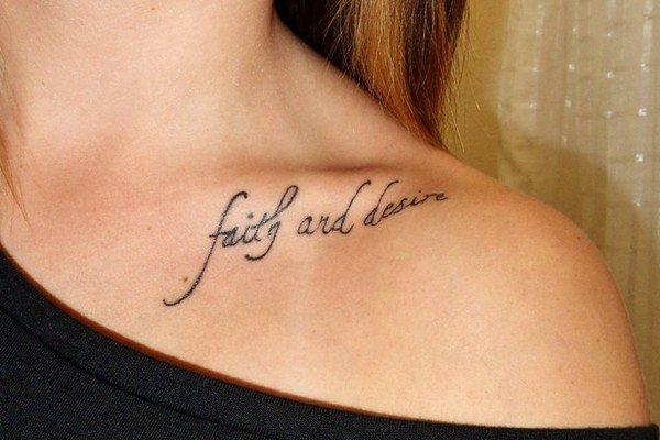 Collarbone Tattoo Pain