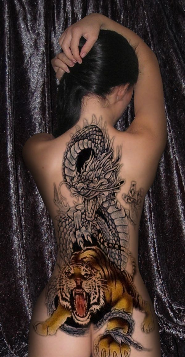 Back Dragon Tattoo Ideas Meaning