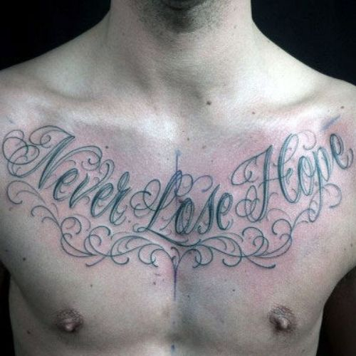 Cool Cursive Tattoo Font