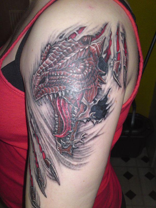 Dragon Arm Tattoo Meaning Ideas