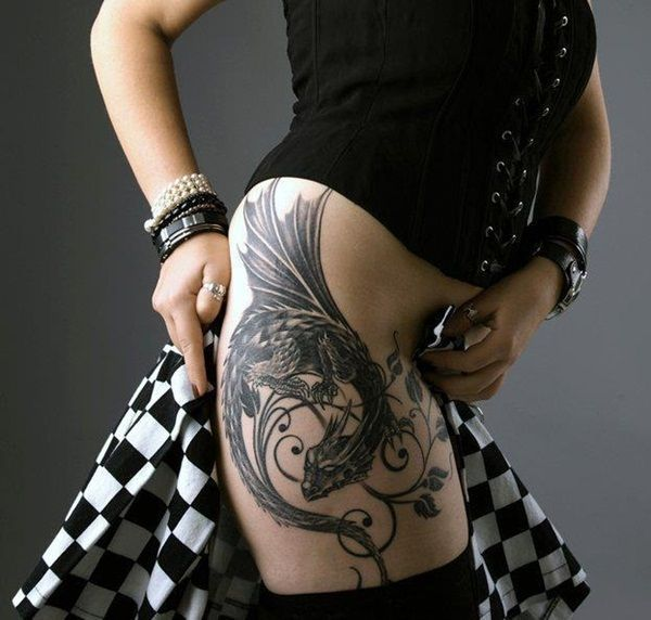 Dragon Tattoo Drawing Ideas Back