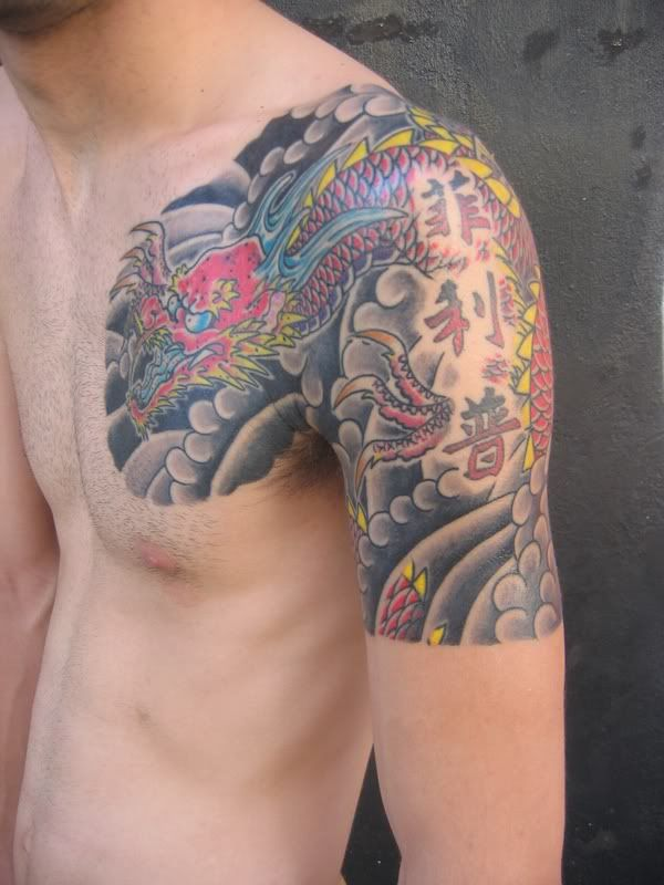 Dragon Tattoo Ideas Meaning Drawing