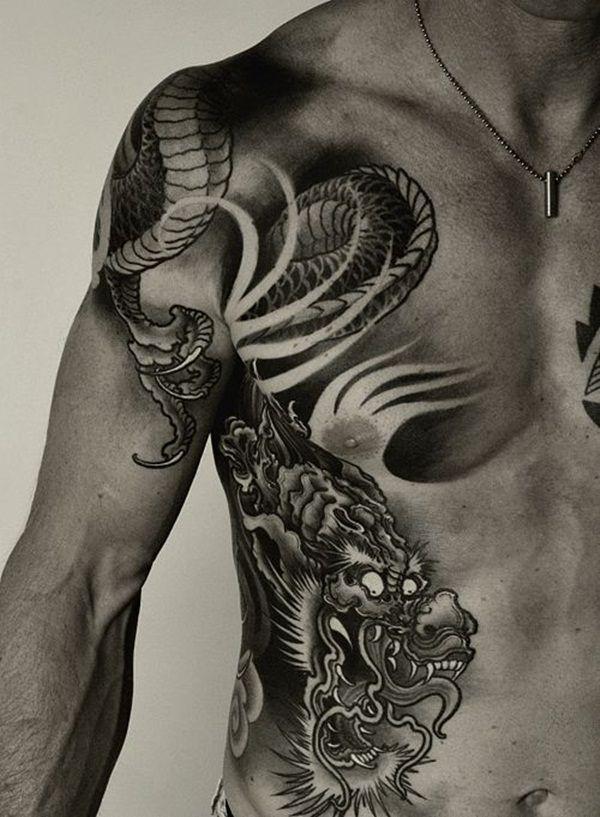 Dragon Tattoo Ideas Sleeve Drawing
