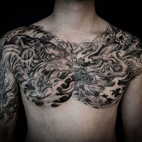 Dragon Tattoo Meaning Ideas Drawing Arm