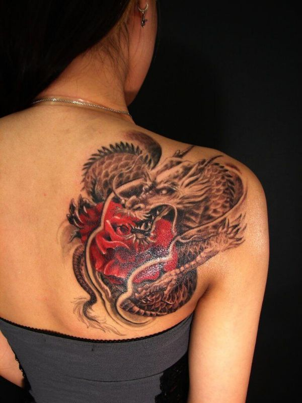 Dragon Tattoo Meaning On Back Ideas