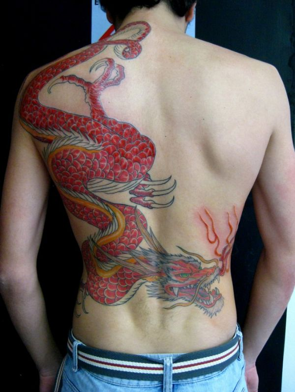 Dragon Tattoos Ideas Meaning Drawing On Back