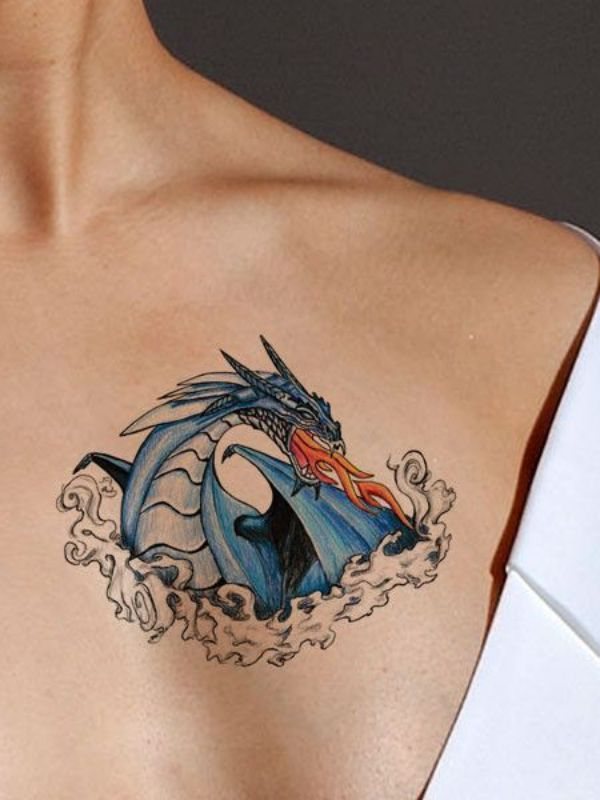 Dragon Tattoos Ideas Meaning Drawing