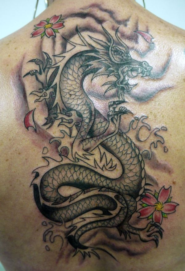 Dragon Tattoos Meaning On Back Ideas