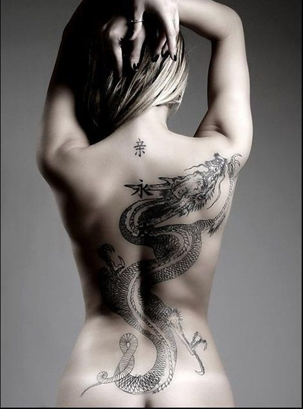 Dragon Tattoos Meaning On Back