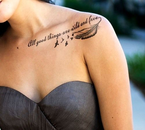 Girly Cursive Tattoo Font