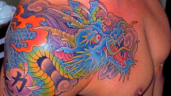 Ideas Dragon Tattoo
